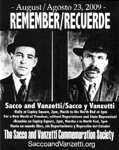 a history of sacco vanzetti conviction and anarchy Sacco and vanzetti case the sacco and vanzetti case is widely regarded as a miscarriage of justice in american legal history nicola sacco and bartolomeo vanzetti, italian immigrants and anarchists, were executed for murder by the state of massachusetts in 1927 on the basis of doubtful ballistics evidence.