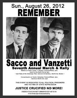the lives and deaths of italian anarchist sacco and vanzetti Nicola sacco and bartolomeo vanzetti were italian-born american by discussing sacco and vanzetti's anarchist of sacco & vanzetti: double lives.